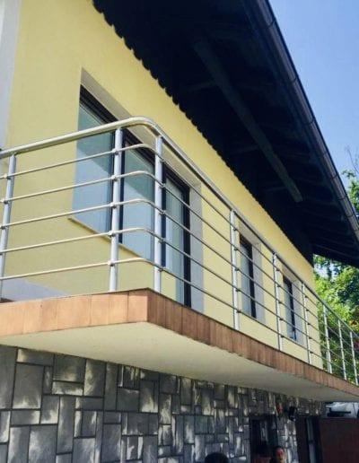 balkonske ograde alumix zagreb nova balkonska ograda kvaliteta metalna ograde izrada montaža ograde