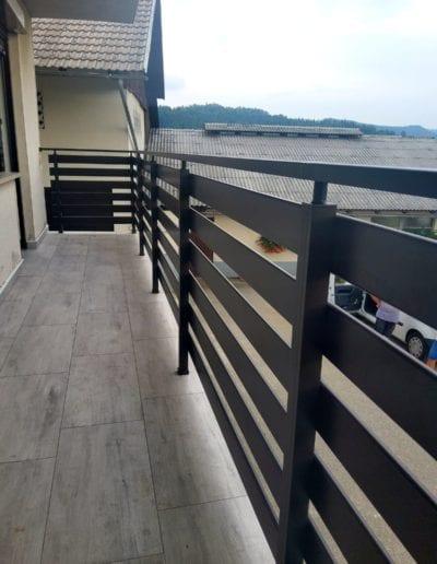 balkonske ograde alumix zagreb nova balkonska ograda kvaliteta metalna ograde izrada montaža ograde nove zagreb (4)