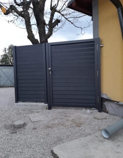 dvorišna vrata izrada dvorišnih vrata alumix zagreb dvorišna vrata izrada montiranje vrata