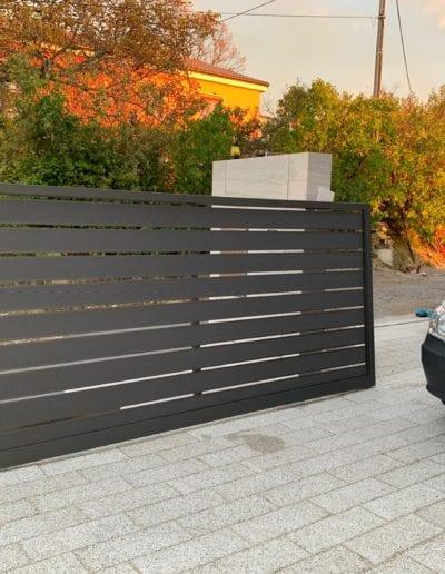 dvorišna vrata izrada dvorišnih vrata alumix zagreb dvorišna vrata izrada montiranje vrata dvorište