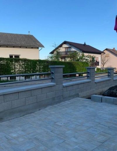 dvorišne ograde zagreb alumix nove ograde za dvorište montaža izrada dvorišne ograde zg (17)
