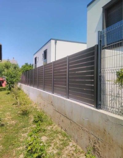 izrada dvorišne ograde zagreb alumix nove ograde za dvorište montaža izrada dvorišne ograde zg nova metalna ograda kvaliteta (12)