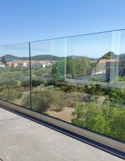 staklene ograde za balkon ili vani unutrašnjost ograde staklo ograda staklena ideje staklne ograde izrada montaža savjet izgradnja super