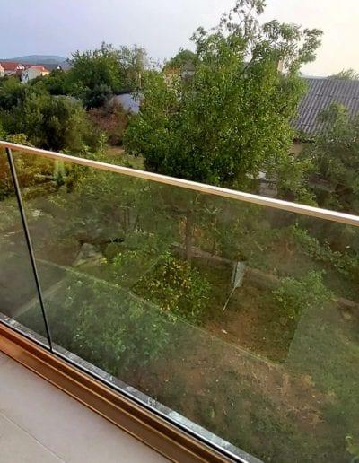 staklene ograde za balkon ili vani unutrašnjost ograde staklo ograda staklena ideje staklne ograde izrada montaža savjet izgradnja vani