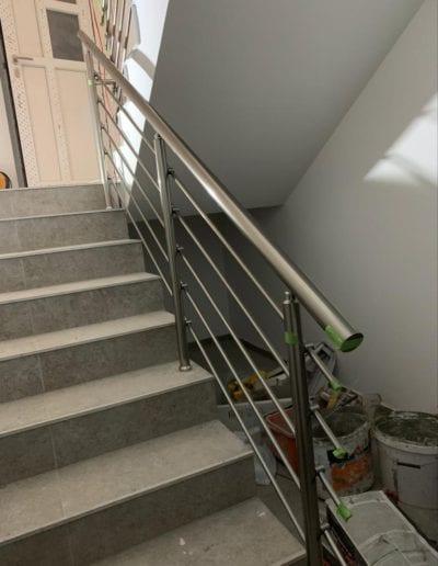 stepništa nova izrada stepeništa montaža stepenište metalno montiranje stepeništa izrada kvalitetna stepeništa izgradnja alumix azgreb hodnik