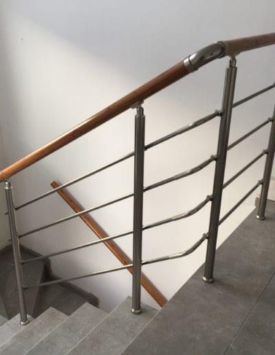 stepništa nova izrada stepeništa montaža stepenište metalno montiranje stepeništa izrada kvalitetna stepeništa izgradnja alumix azgreb stup