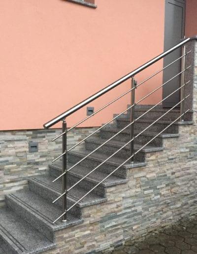 stepništa nova izrada stepeništa montaža stepenište metalno montiranje stepeništa izrada kvalitetna stepeništa izgradnja alumix azgreb vani