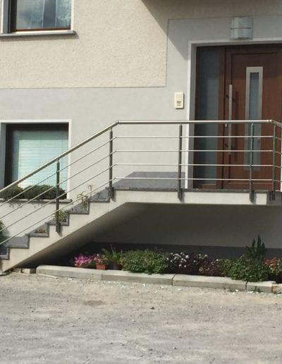 stepništa nova izrada stepeništa montaža stepenište metalno montiranje stepeništa izrada kvalitetna stepeništa izgradnja alumix priprema
