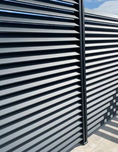 zaštita od pogleda ograda za kuću metalna ograda akcija nova ograda zaštita od pogleda alumix zagreb izrada ograde